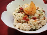Back to the Kitchen – Shrimp and Bacon Risotto