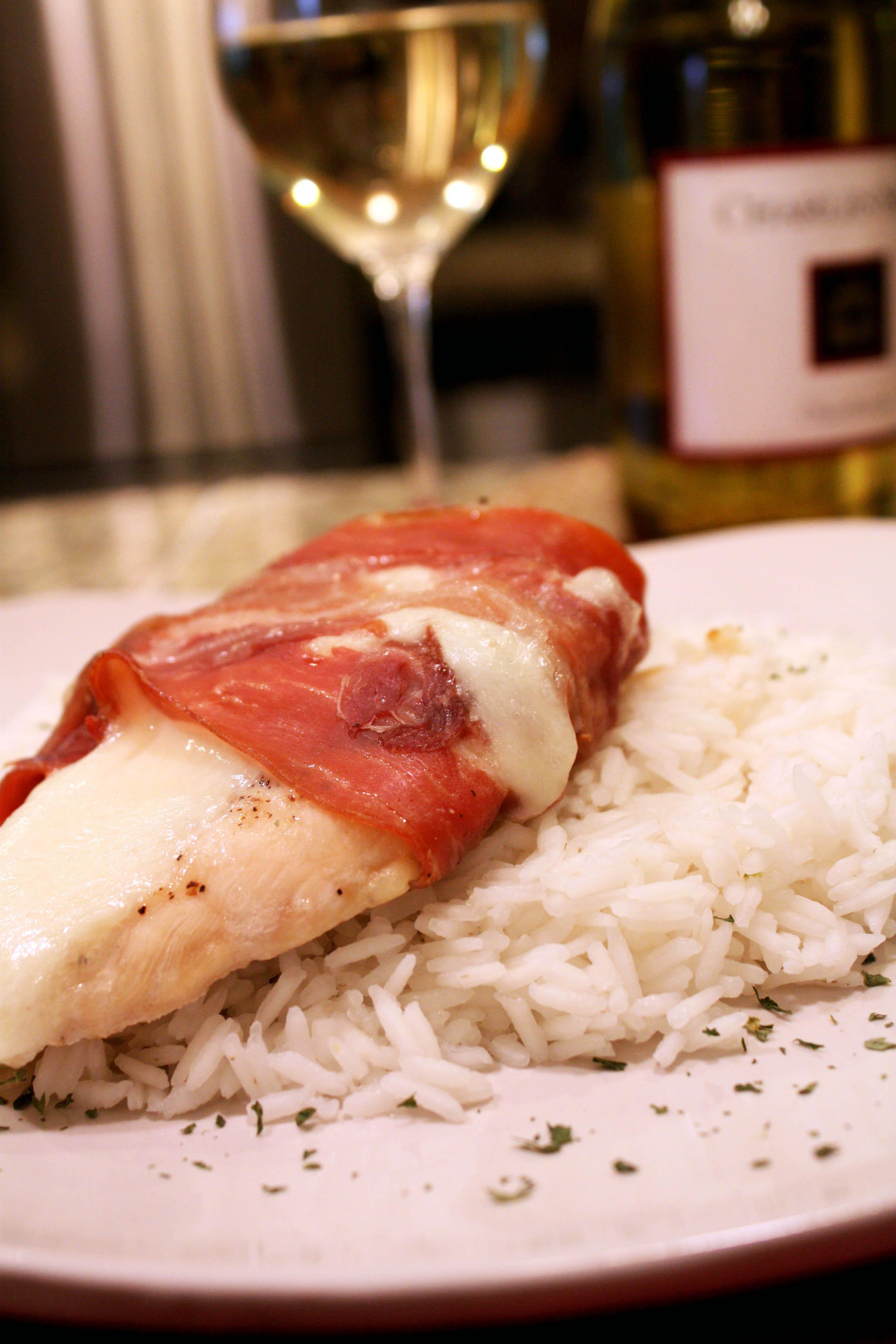 Prosciutto Wrapped Chicken with Mozzarella and Basil ...