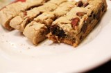 Soft and Gooey Chocolate Chip & Pecan Cookie Bars