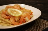 Roasted Lemon Garlic Herb Shrimp &Pasta