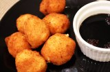 Cheese Croquettes with a Berry Balsamic Reduction